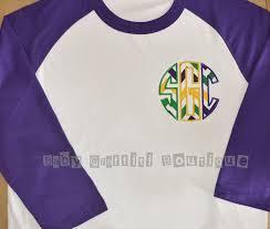 mardi gras t shirt mardi gras women s raglan monogrammed initial t shirt