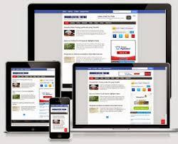 download template blogger seo friendly responsif dan fast loading