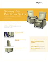 recliners stryker patient care united states
