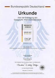 eingetragenes design website check diqp das gütesiegel für ihre website hochwertige