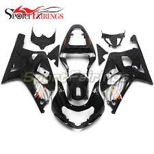suzuki motorcycle black fairing kit for suzuki gsxr600 fairing kit for suzuki gsxr600