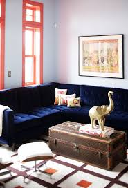 deep blue velvet sofa 21 different style to decorate home with blue velvet sofa