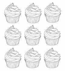 cupcake coloring page seasonal colouring pages with pinkalicious pink cupcakes free