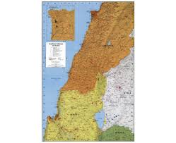 Map Of Southern Asia by Maps Of Lebanon Detailed Map Of Lebanon In English Tourist Map