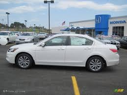 2011 honda accord white taffeta white 2011 honda accord ex l v6 sedan exterior photo