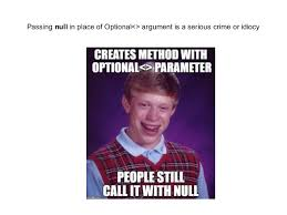 User Memes - fighting null with memes