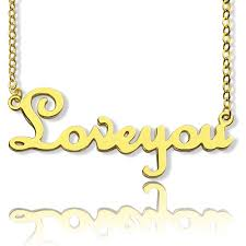 gold necklace with name in cursive cursive name necklace 18k gold plated