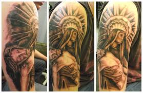 amazing right half sleeve christian for christian