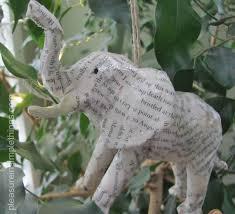 diy animal ornaments pleasure in simple things