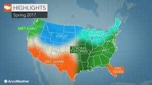 Weather Map Chicago by 2017 Us Spring Forecast Winter Won U0027t Quit In Northeast Severe