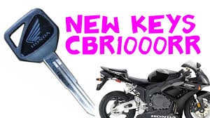 making a spare hiss key for honda cbr1000rr 2006 youtube