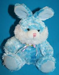 stuffed bunnies for easter goffa easter bunny rabbit blue tie dye plush white soft