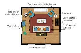 room floor plan living room floor plans to prepare better homes and gardens