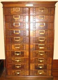Library Catalog Cabinet Antique Vintage Library Card Catalog Cabinet Antique Library Card
