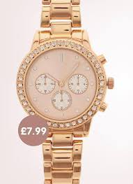 home bargains is selling a rose gold watch and it u0027s 271