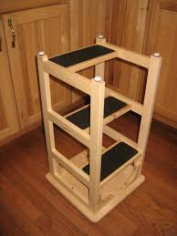 Library Step Stool Chair Combo Looks Like A Bar Stool Upside Down With Added Steps Stan U0027s