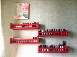 etagere pour vernis d i y nail polish racks wished chronicles