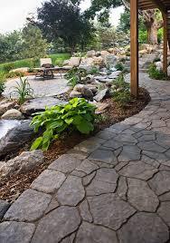 Backyard Walkway Designs - i u0027m not a big fan of hills in a landscape let alone a backyard but