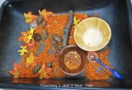thanksgiving sensory table ideas sensory table ideas