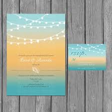 Wedding Reception Invitation Wording Beach Wedding Reception Invitations Post Beach Wedding Reception