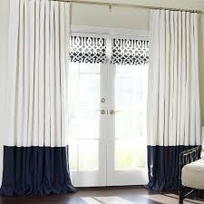 Linen Curtains With Grommets Marvellous Ideas Color Block Curtains 25 Best Ideas About Color On
