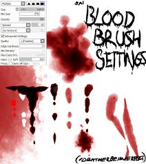 paint tool sai blood brush settings updated by