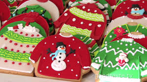 sweater cookies goodtaste tv tacky sweater cookies rule at s