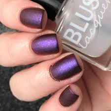 blush lacquers matterial matte top coat plus two nail