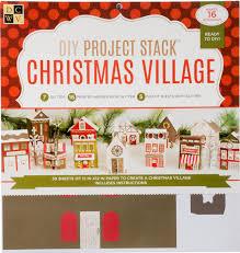 dcwv christmas village project stack sharon callis crafts