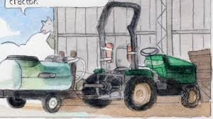 orchard tractors of the tasmanian huon valley u0027 today u0027s comic by