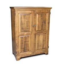 Used Computer Armoire by Handcrafted Cypress Armoires All Wood Furniture Incorporated