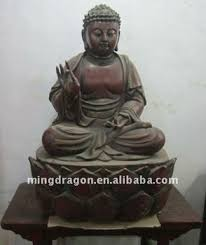 asia antique carved wooden seated buddha statue buy asia