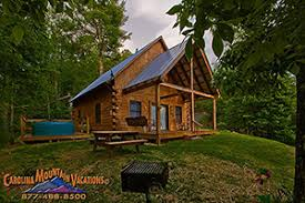 getaway nc mountain log cabins rentals 1 bedroom managed