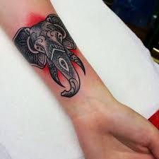 tattoo for men in hand 45 elephant head tattoos