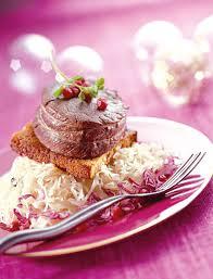 cuisiner choucroute crue comment préparer un pavé de chevreuil d épice et choucroute