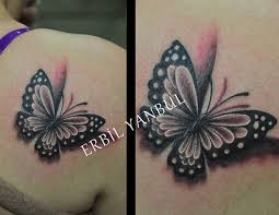 butterfly scorpion ink black and gray