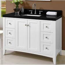 shaker americana 48 traditional single sink bathroom vanity