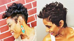 adorable short hairstyles for african american women youtube