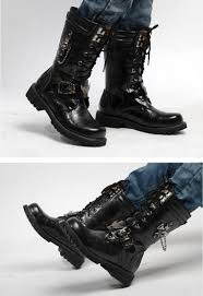 high motorcycle boots new 2015 personality men u0027s boots punk boots male high top shoes