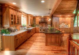 log cabin floors log home kitchens pictures design ideas