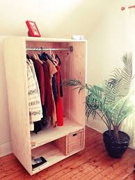 Plans For Freestanding Storage Shelves by Keep Your Wardrobe In Check With Freestanding Clothing Racks