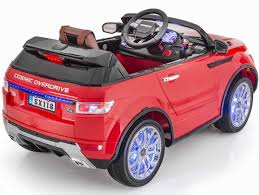 land rover kid kids 12v led edition range rover style ride on car with parental