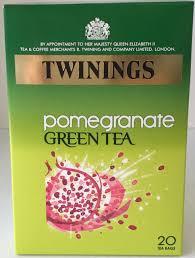 twinings tea green tea with pomegranate 20ct jolly grub