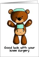 feel better cards get well soon from your knee surgery from greeting card universe