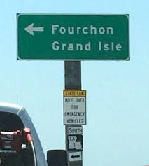 en route to grand isle louisiana new orleans and louisiana