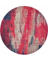 Round Red Rugs 8x8 Area Rugs At Low Prices