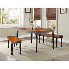 Better Homes And Gardens Dining Room Furniture Better Homes And Gardens Autumn Lane Farmhouse Dining Table Black