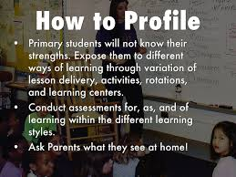 teaching using learning profiles by jkoning15