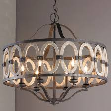 driftwood entwined ovals chandelier driftwood wrought iron and
