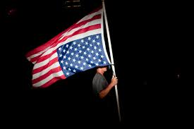 Distress Flag Upside Down Oregon Man Flying American Flag Upside Down To Protest Obama